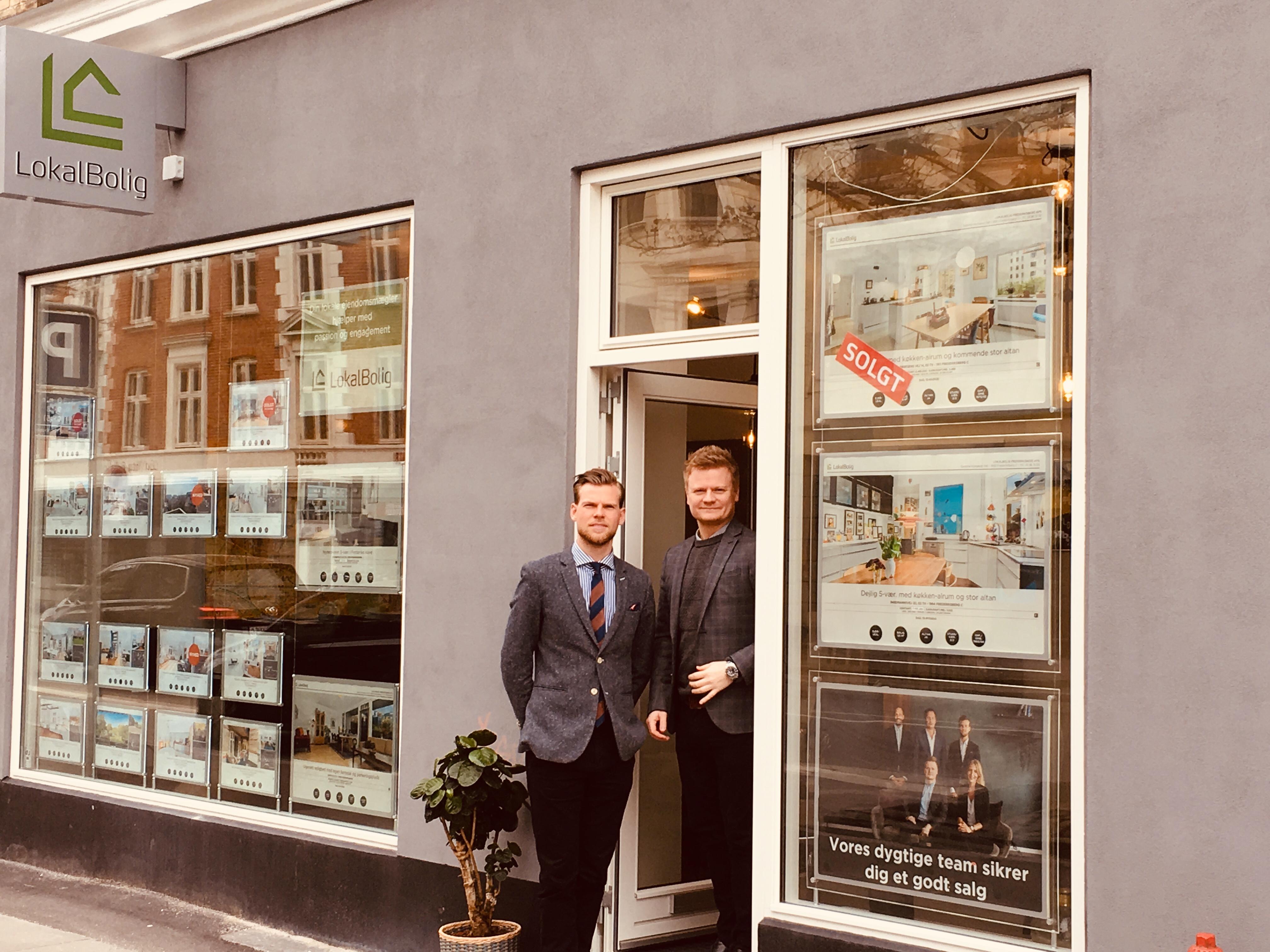 Mægler LokalBolig Frederiksberg ApS. Kontakt her hvis du skal købe.